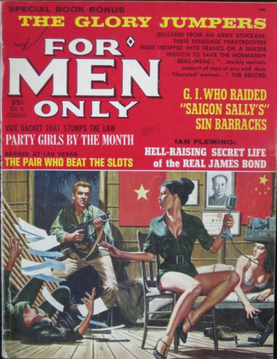 For Men Only magazine cover, May 1965