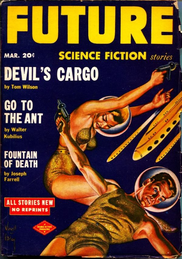Future Science Fiction March 1959