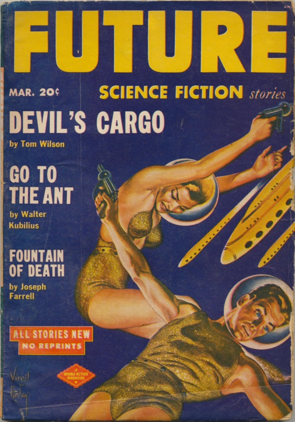 Future Science Fiction Stories, March 1952