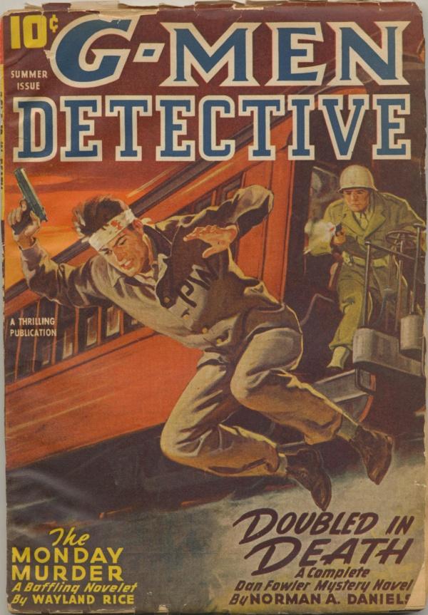 G-Men Detective Summer 1946