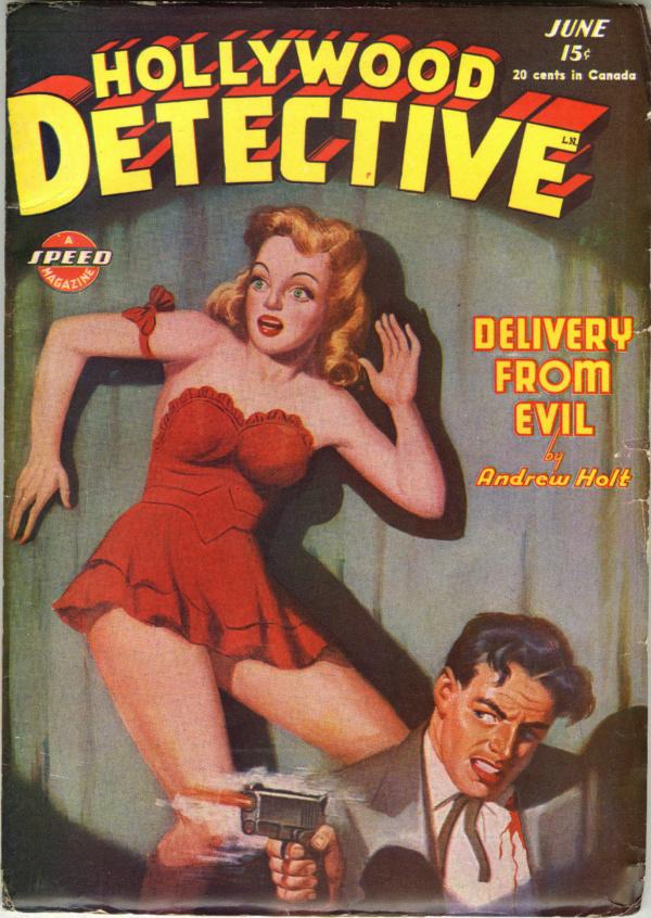 Hollywood Detective V6#2 June 1945