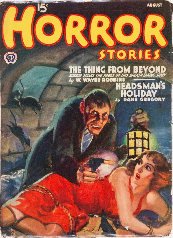 Horror Stories - Aug 1940