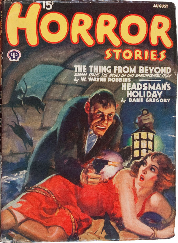Horror Stories August 1940