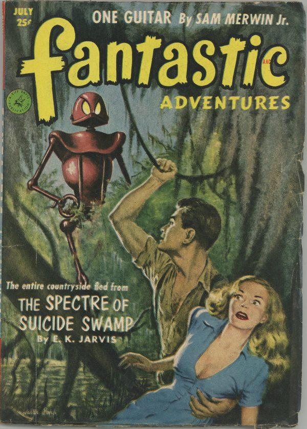 July 1952 Fantastic Adventures