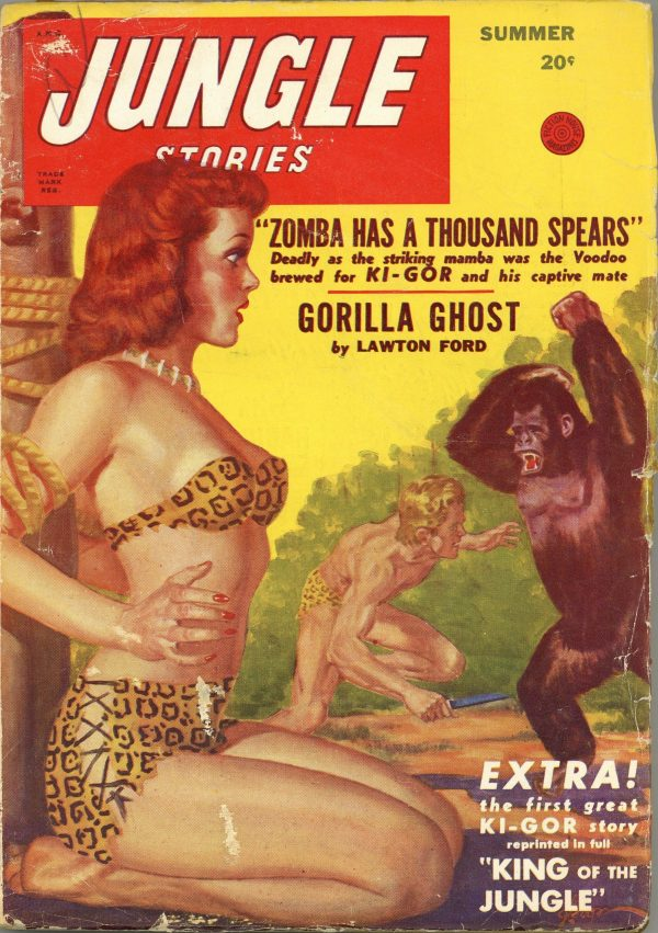 Jungle Stories Magazine Summer 1948