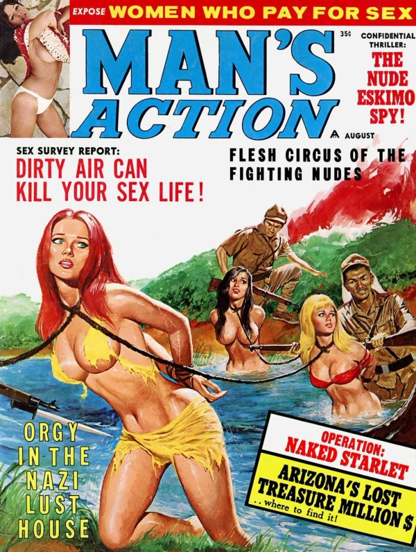 MAN'S ACTION, August 1968