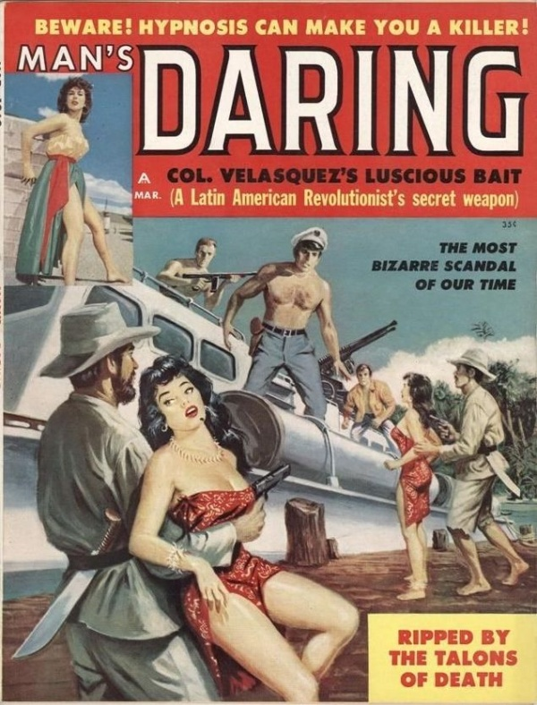 Man's Daring March 1960