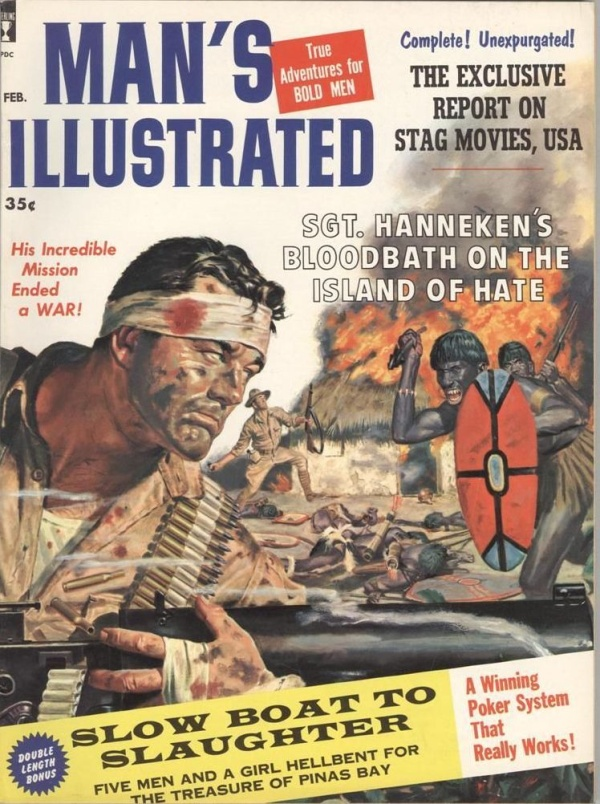 Man's Illustrated February 1960