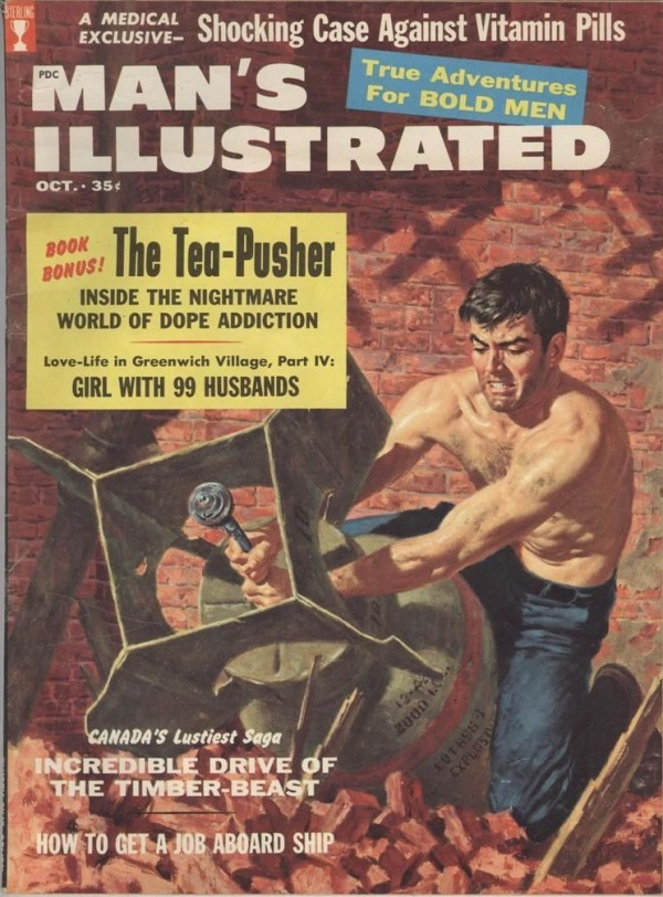 Man's Illustrated October 1958