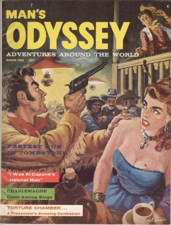 Man's Odyssey March 1958