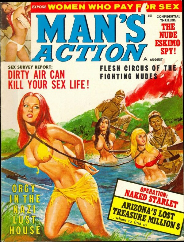 Man's Action Aug, 1968