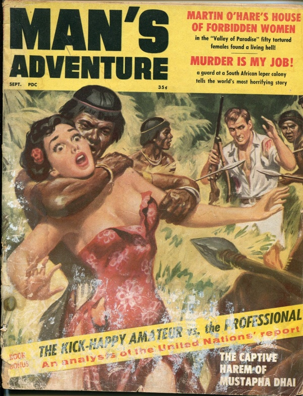 Man's Adventure September 1959