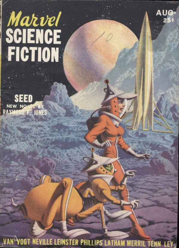 Marvel Science Fiction, August 1951
