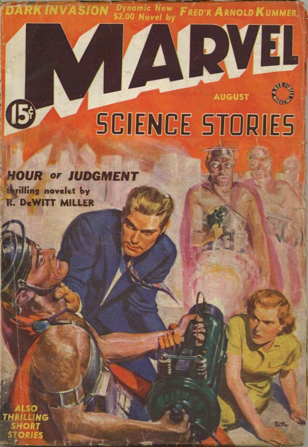Marvel Science Stories Aug 1939