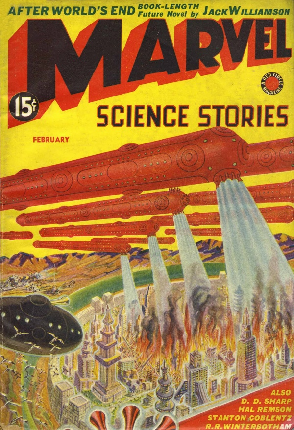 Marvel Science Stories, February 1939
