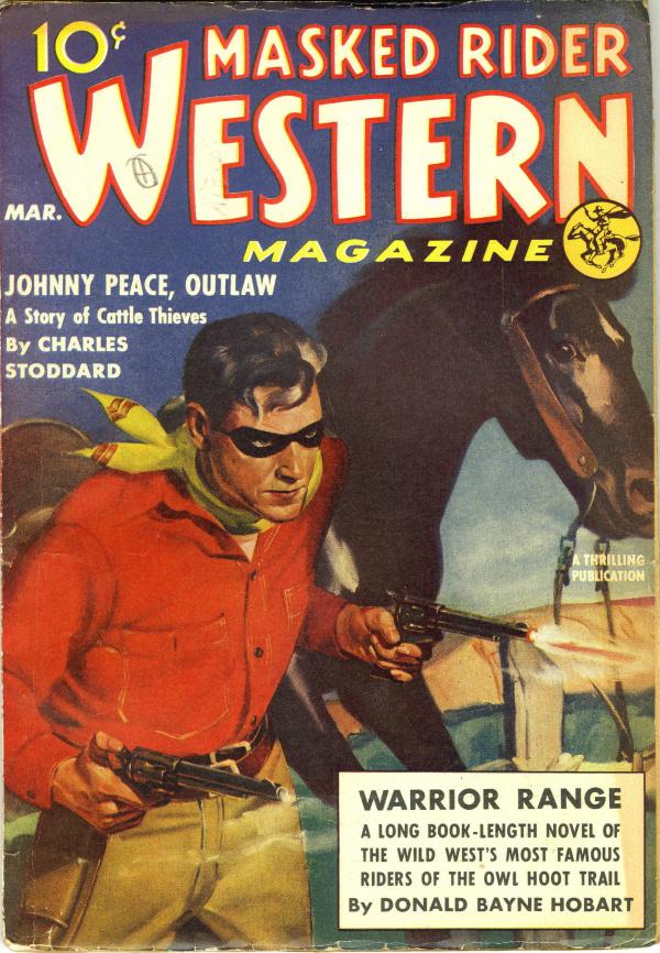 Masked Rider Western V6#2 March 1939