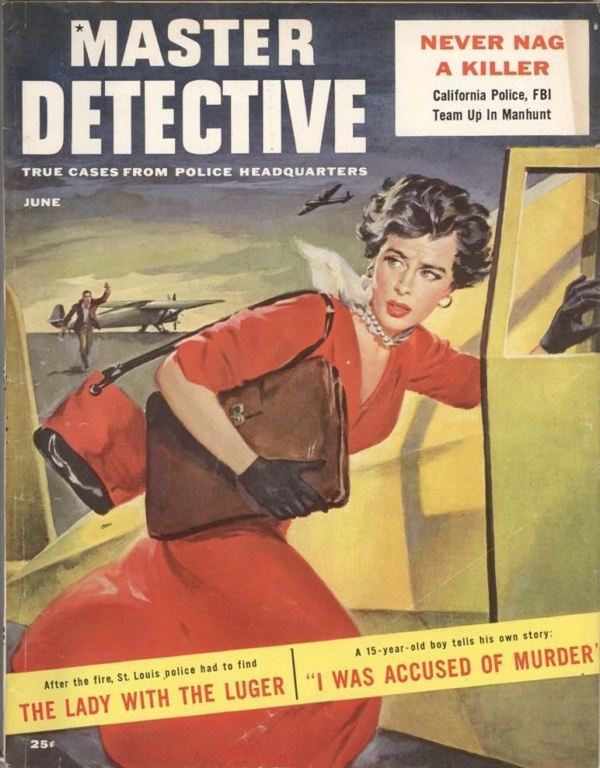 Master Detective June 1956