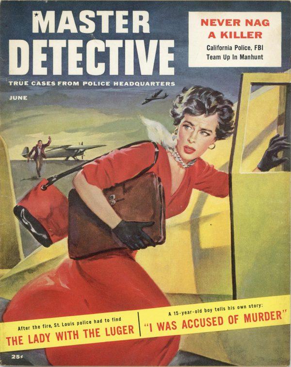 Master Detective Magazine June 1956