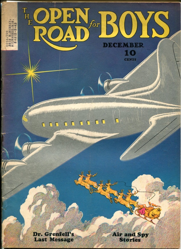 Open Road For Boys December 1940