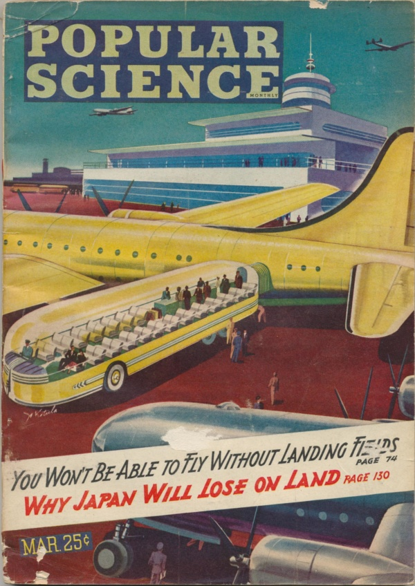 Popular Science - March 1945