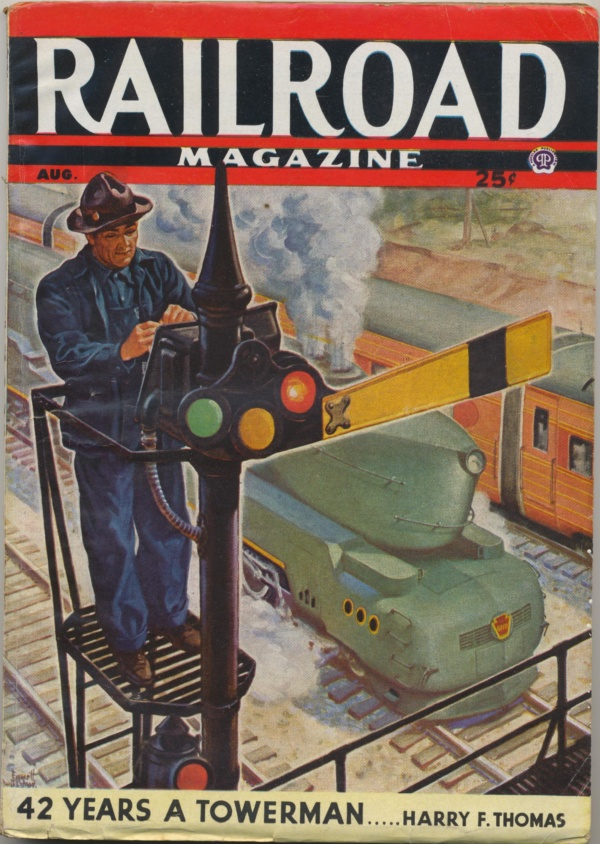 Railroad Magazine August 1944