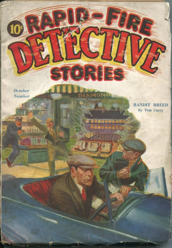 Rapid-Fire Detective Stories October 1932