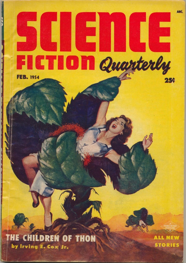 Science Fiction Quarterly, February 1954