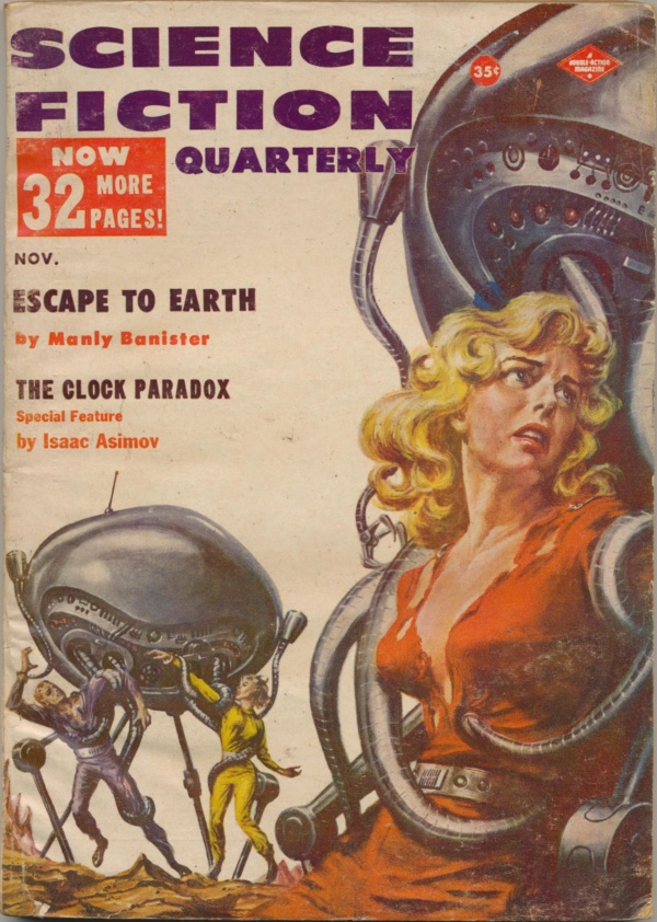 Science Fiction Quarterly, November 1957