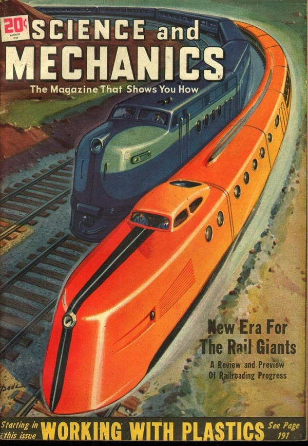 Science and Mechanics August 1948