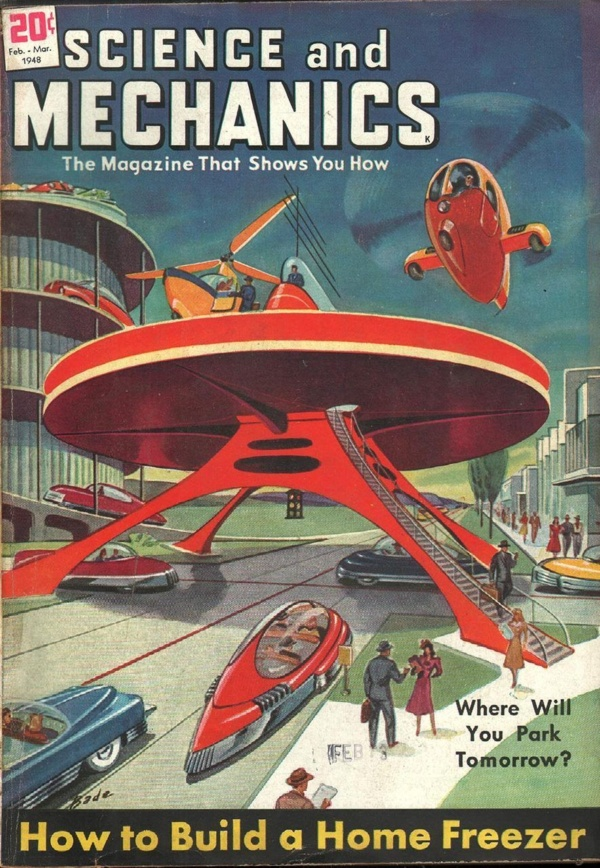 Science and Mechanics February 1948