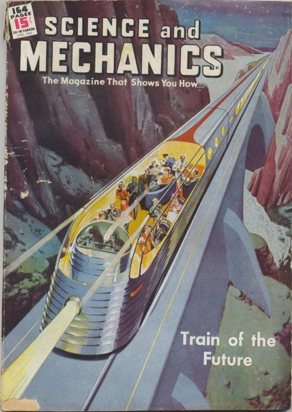 Science and Mechanics June 1945