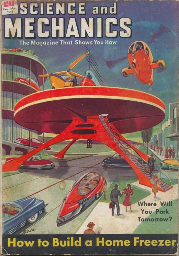 Science and Mechanics Magazine February-March 1948