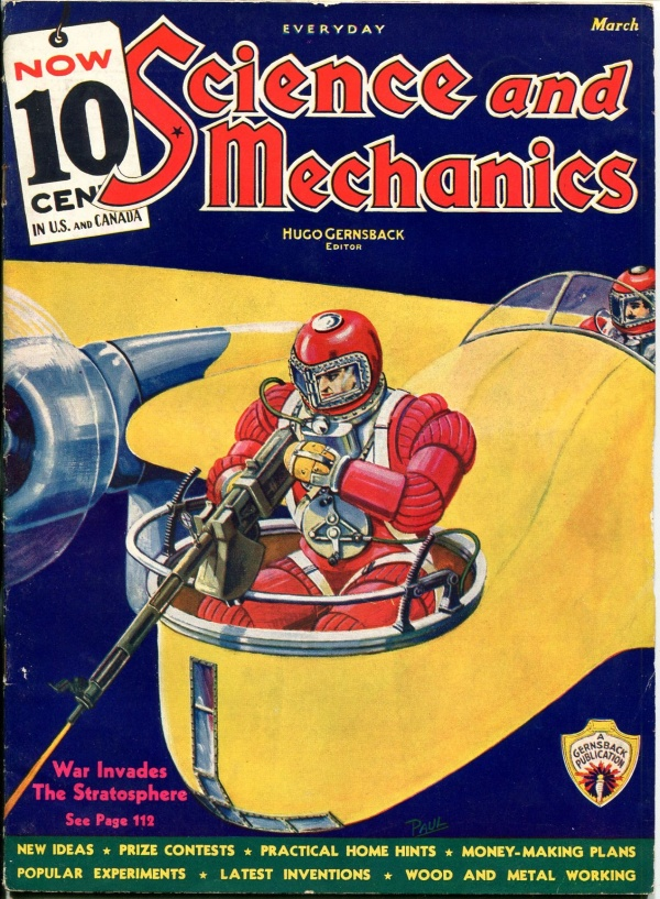 Science and Mechanics March 1936