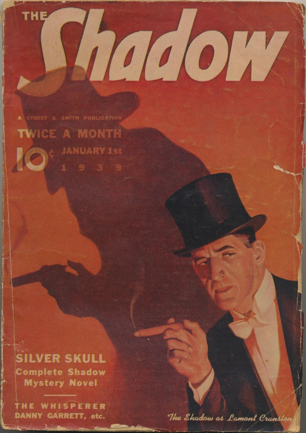 Shadow Magazine Vol 1 #165 January, 1939