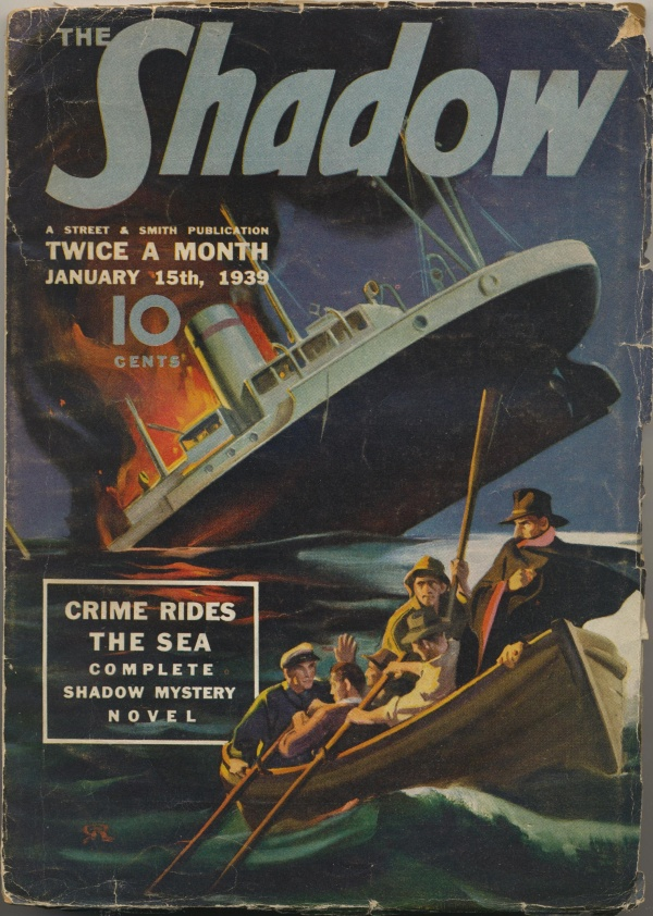 Shadow Magazine Vol 1 #166 January, 1939