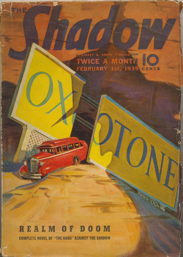 Shadow Magazine Vol 1 #167 February, 1939