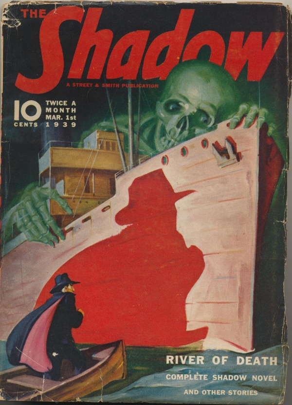 Shadow Magazine Vol 1 #169 March, 1939