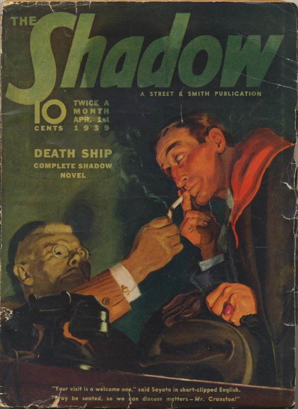 Shadow Magazine Vol 1 #171 April, 1939