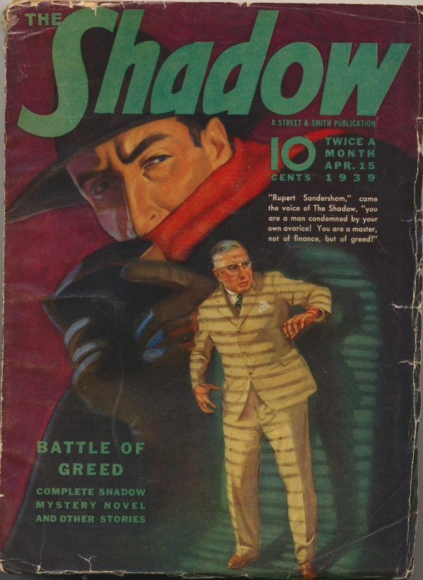 Shadow Magazine Vol 1 #172 April, 1939