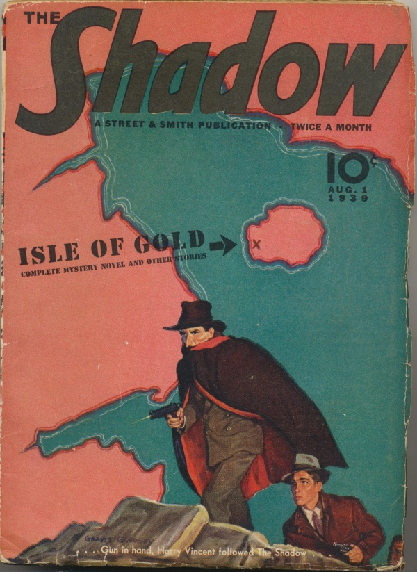Shadow Magazine Vol 1 #179 August, 1939