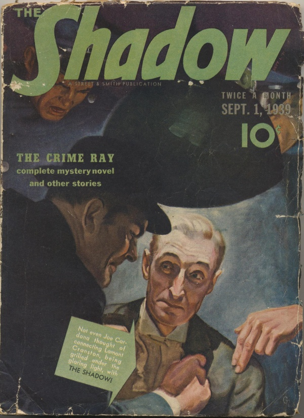 Shadow Magazine Vol 1 #181 September, 1939