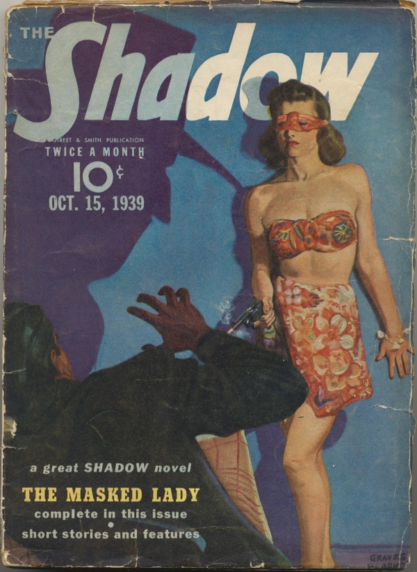 Shadow Magazine Vol 1 #184 October, 1939