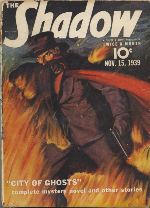 Shadow Magazine Vol 1 #186 November, 1939
