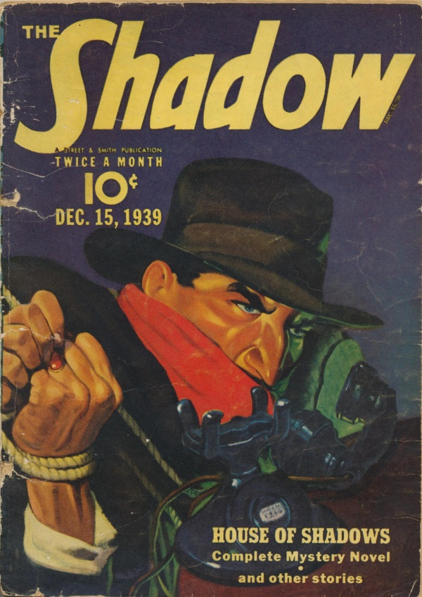 Shadow Magazine Vol 1 #188 December, 1939