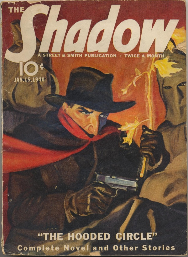 Shadow Magazine Vol 1 #190 January, 1940