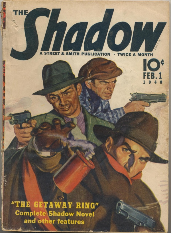 Shadow Magazine Vol 1 #191 February, 1940