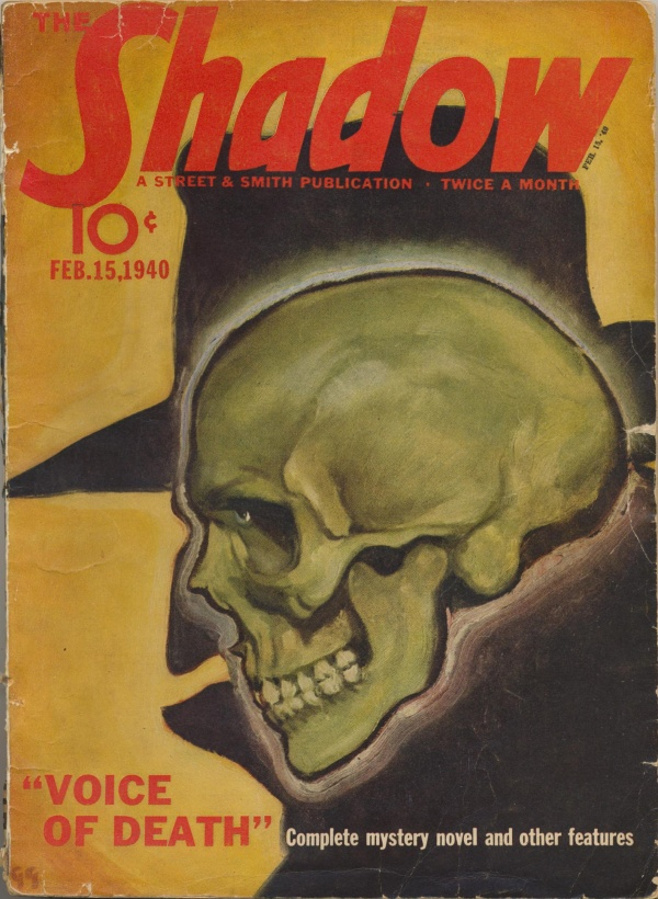 Shadow Magazine Vol 1 #192 February, 1940