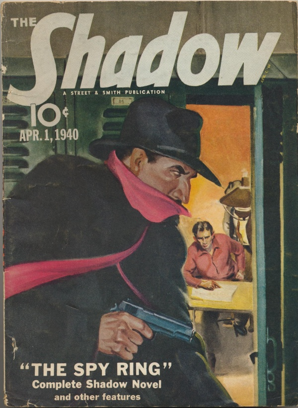 Shadow Magazine Vol 1 #195 April, 1940
