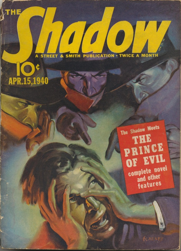 Shadow Magazine Vol 1 #196 April, 1940