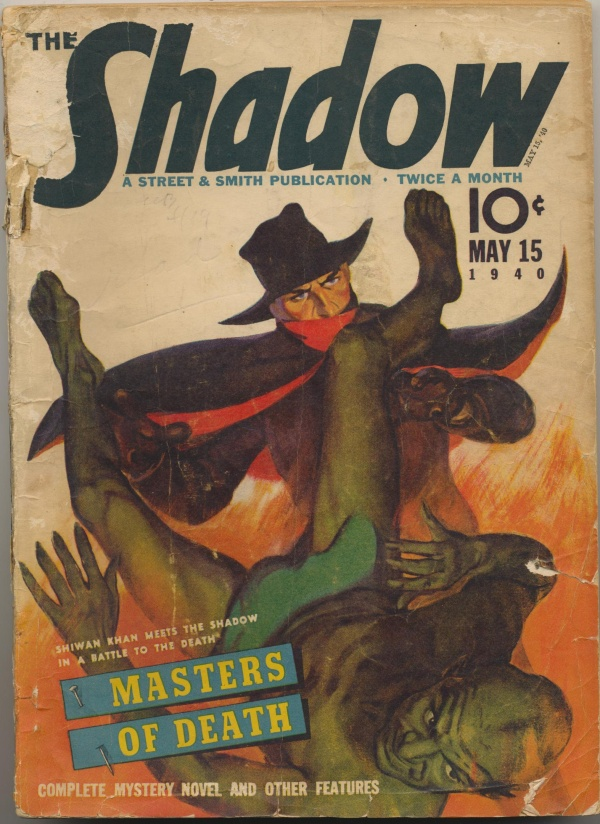 Shadow Magazine Vol 1 #198 May, 1940